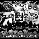 3 Beasts Attack The City!! Split