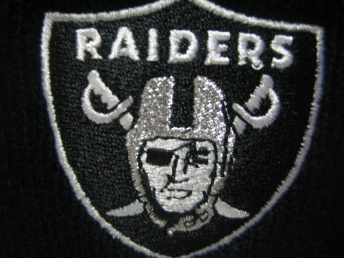 NFL ロゴ刺繍ニットキャップ RAIDERS(A)
